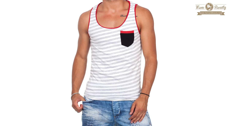 prendas hombre imprescindibles primavera verano camiseta tirantes