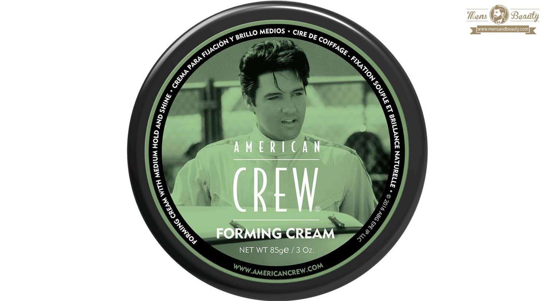 mejores ceras gominas lacas fijadores peinado hombre forming cream american crew