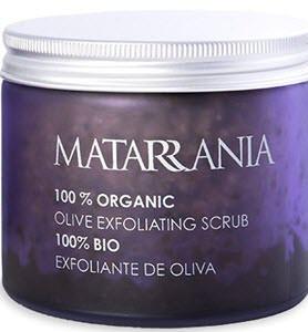 cosmetica natural hombre exfoliante oliva matarrania