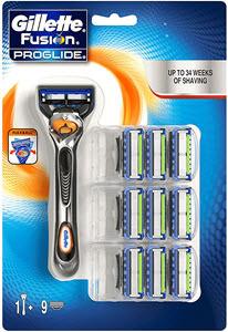 descuentos ofertas chollos accesorios hombre cuchilla afeitar gillete fusion proglide flexball recambios