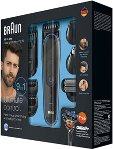 descuentos ofertas chollos accesorios hombre maquinilla afeitar pack braun mgk 3080 gillete fusion proglide flexball