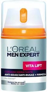 descuentos ofertas chollos belleza hombre crema antiarrugas antiedad loreal men expert vita lift