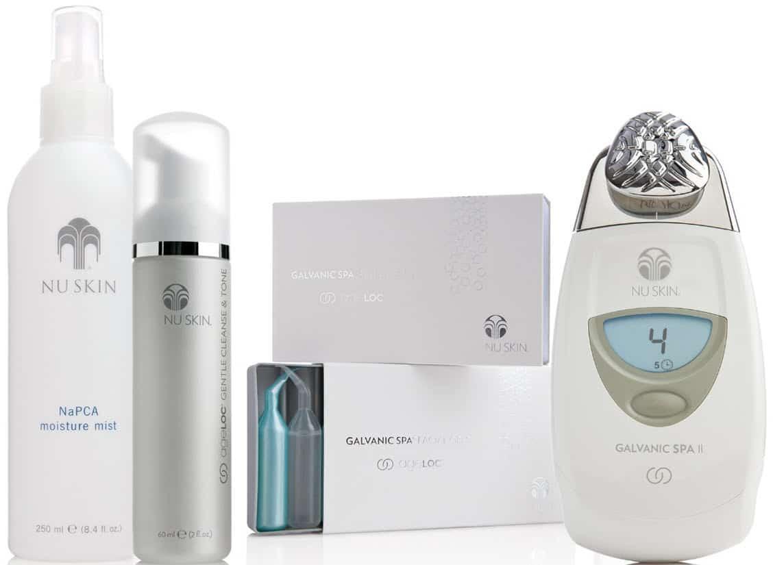 descuentos ofertas chollos belleza hombre tratamiento antienvejecimiento ageloc edition nu skin galvanic spa system