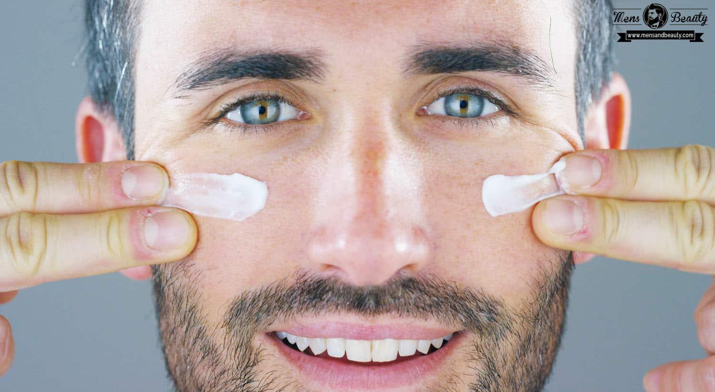 maquillaje para hombre aplicar maquillaje hidratar cara