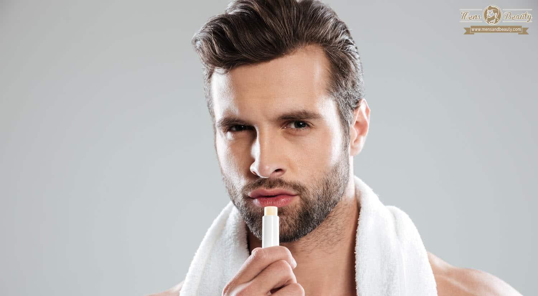 maquillaje para hombre aplicar maquillaje reparar labios