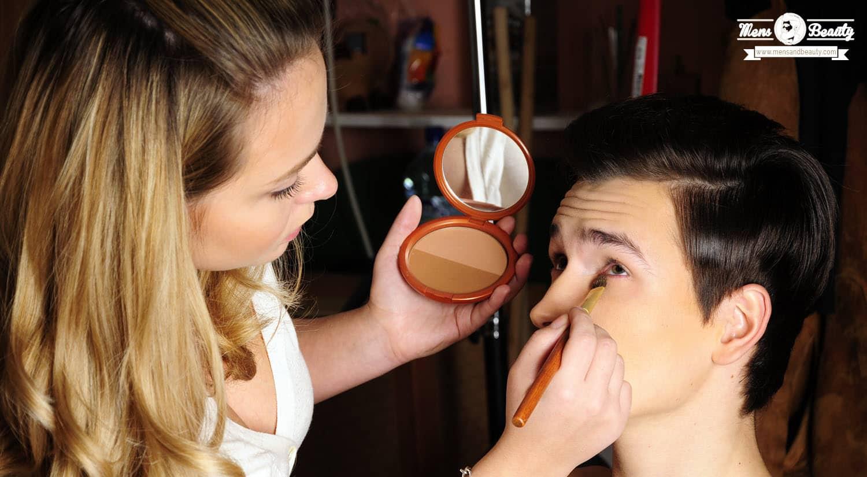 maquillaje para hombre diferencias hombre mujer