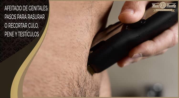 como afeitar genitales rasurar recortar pelo culo pene ingle testiculos