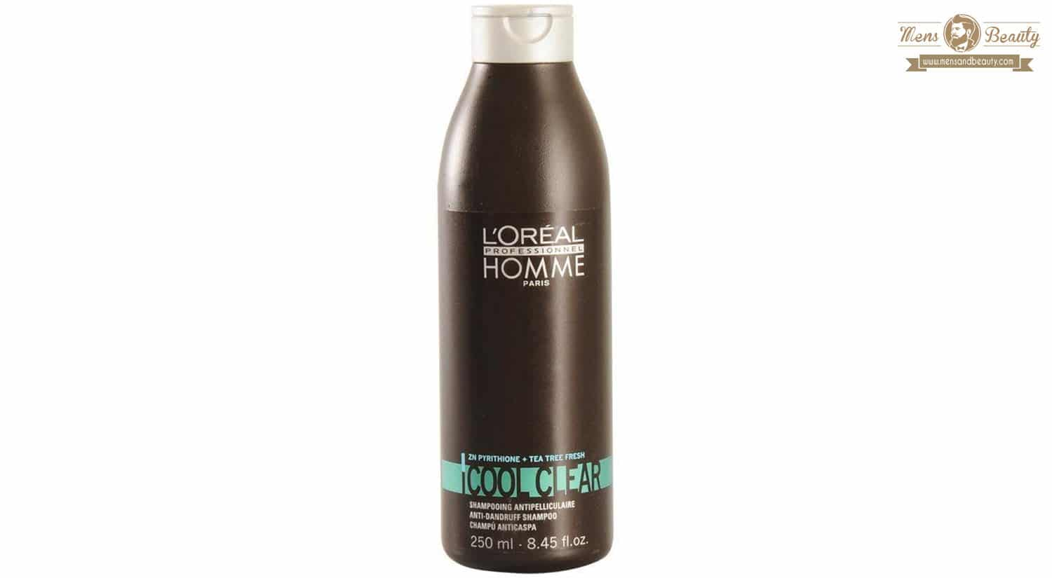 mejor champu anticaspa cool clear loreal men expert
