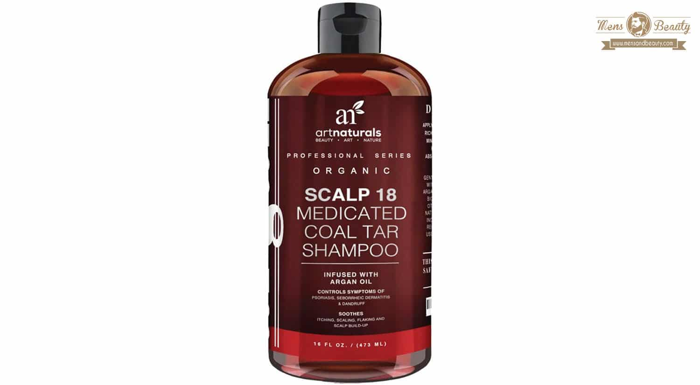 mejor champu anticaspa scalp 18 shampoo art naturals