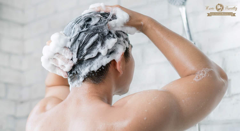 mejor champu hombre pasos lavar pelo