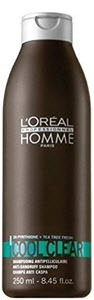 mejor champu hombre tipo pelo anticaspa cool clear loreal