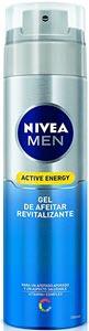 mejor gel espuma crema de afeitar hombre nivea men active energy gel de afeitar revitalizante