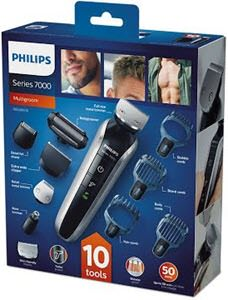 descuentos ofertas chollos belleza cuidado personal hombre set afeitado recortadora electrica corporal inalambrica philips qg338016