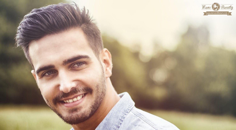 Peinados para hombres con pelo liso