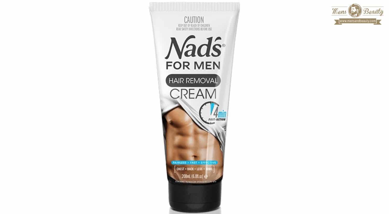 mejores cremas depilatorias hombre nads