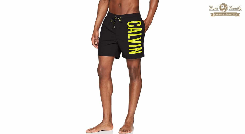 moda verano hombre bañador camiseta chanclas bañador calvin klein