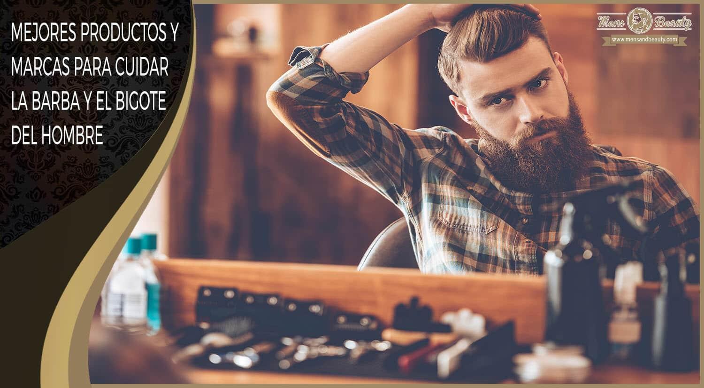 mejores productos barba bigote hombre como hacer crecer recortar cuidar arreglar consejos