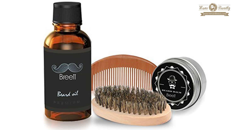 mejores productos barba bigote hombre kit breet