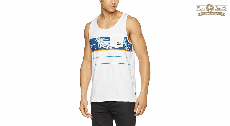 moda verano hombre bañador camiseta chanclas camiseta billabong