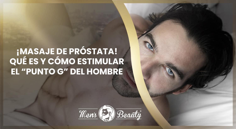 masaje de próstata desde el ano y desde el frente