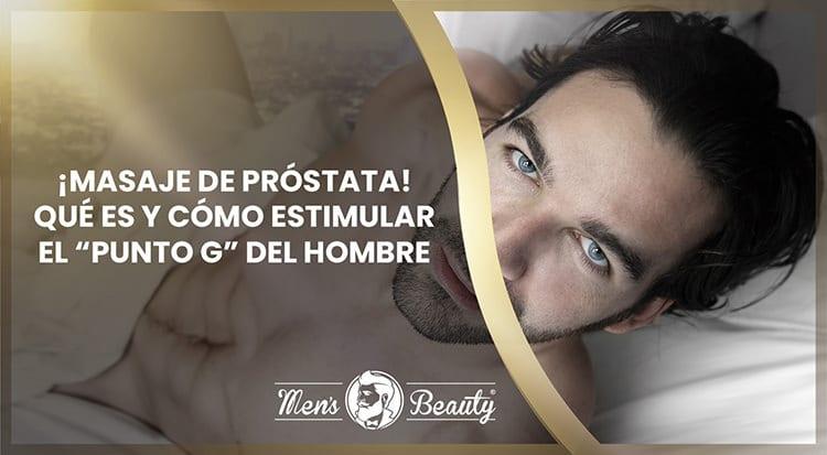 masaje de próstata con punto de encaje