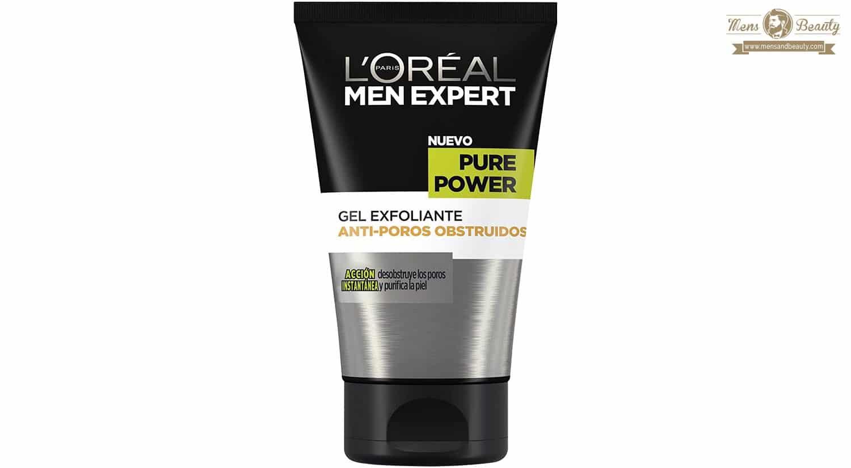 exfoliante facial corporal hombre mejores productos marcas beauty loreal men expert