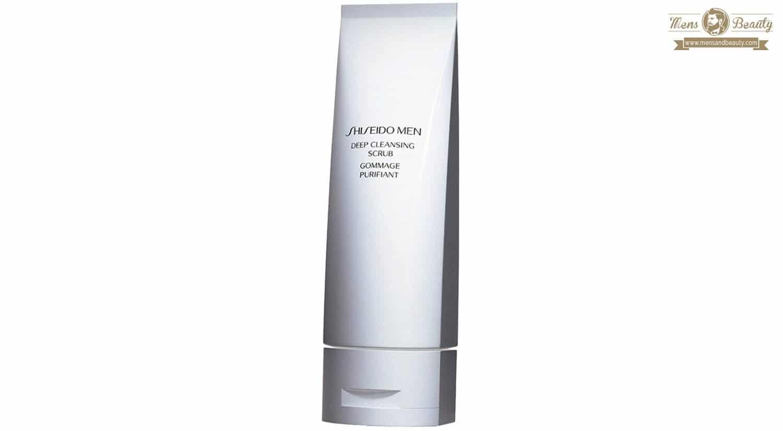 exfoliante facial corporal hombre mejores productos marcas beauty shiseido men
