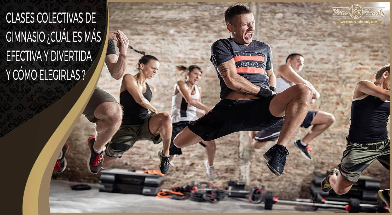 mejores clases ejercicio colectivas en grupo gimnasio elegir combinar
