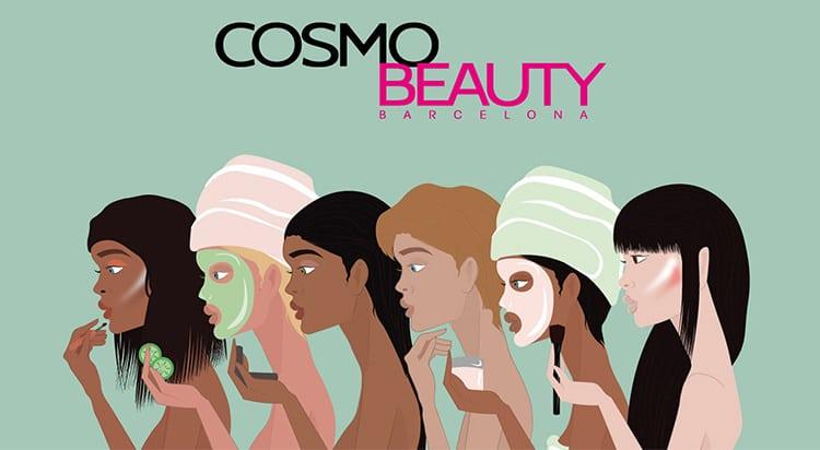feria belleza cosmetica peluqueria uñas maquillaje estetica cosmobeautybarcelona