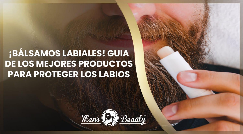 balsamos labiales hombre como proteger labios mejores tratamientos productos caseros masculinos