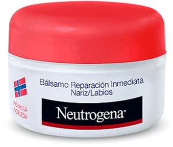 mejores productos para hombre balsamos labiales neutrogena balsamo reparador nariz labios