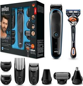 mejores productos para hombre barba bigote maquinas de afeitar braun mgk3085 9 en 1 cuchilla gillette proglide