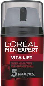 mejores productos para hombre cremas antiarrugas loreal men expert crema hidratante antiedad vita lift