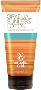 mejores productos para hombre cremas autobronceadoras australian gold gradual sunless rich bronze lotion autobronceador