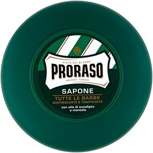 mejores productos para hombre cremas de afeitar proraso jabon de afeitar eucalipto