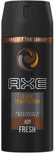 mejores productos para hombre desodorantes axe bodyspray dark temptation