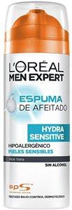 mejores productos para hombre espumas de afeitar loreal men expert hydra sensitive