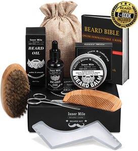 mejores productos para hombre kit barba bigote kit crecimiento aseo recorte