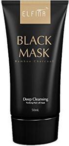 mejores productos para hombre mascarillas faciales elfina black mask barro negro