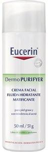 mejores productos para hombre tratamientos antiacne eucerin crema facial hidratante matificante dermo purifyer