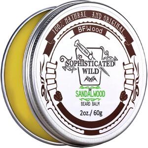 Mejores productos para hombre balsamos de barba y bigote bfwood balsamo aroma de sandalo