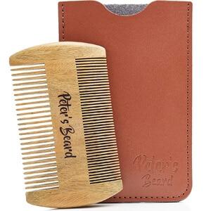 Mejores productos para hombre cepillos y peines de barba peters beard peine de madera