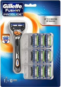 Mejores productos para hombre cuchillas de afeitar gillete fusion proglide flexball 10