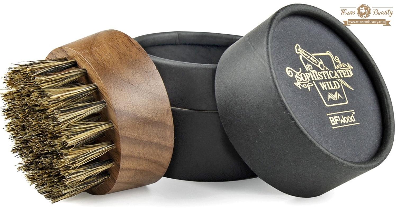 herramientas y utensilios para cuidar y mantener la barba bfwood sophisticated wild cepillo barba cerdas de jabali