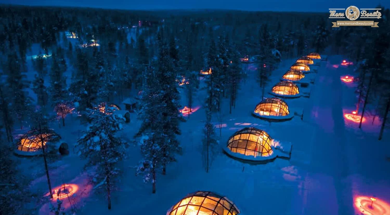 mejores hoteles mundo lujo exclusivo caro kakslauttanen finlandia