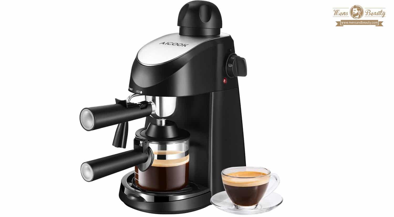 mejores maquinas cafe cafeteras express capuchino aicook