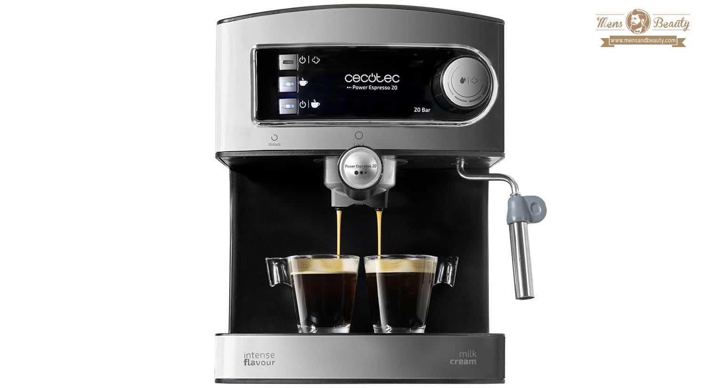 mejores maquinas cafe cafeteras express power expresso cecotec