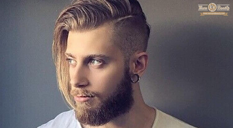 mejores peinados cortes de pelo hombre cabello largo caida lateral