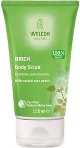 mejores productos hombre cremas exfoliantes corporales weleda birch body scrub