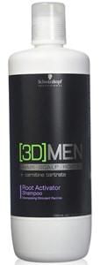 mejores productos para hombre champu anticaida schwarzkopf professional 3d men